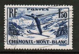 FRANCE   Scott # 322 VF USED (Stamp Scan # 441) - France