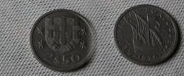 Portugal 2,5  Escudos 1976  Km#590  -        Ttb+ - Portugal