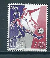 1998 Estland Soccer,football Used/gebruikt/oblitere - Estonie