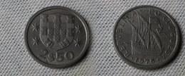 Portugal 2,5  Escudos 1975  Km#590  -        Ttb+ - Portugal