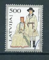 1993 Letland Costumes High Value 500 Used/gebruikt/oblitere - Lettonie
