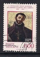 YT N° 920 - Oblitéré - 200e Evangélisation De L4Amérique - Usados