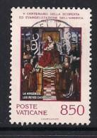 YT N° 921 - Oblitéré - 200e Evangélisation De L4Amérique - Usados