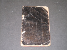 ANCIEN CARNET DE RECETTES DE PATISSERIE DE J. ... - 56pp Manuscrites - Manuscripts