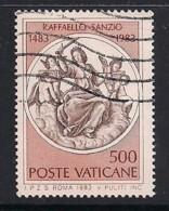 YT N° 747 - Oblitéré - 500e RAPHAEL - Vatican