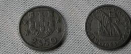 Portugal 2,5  Escudos 1963  Km#590  -        Ttb+ - Portugal