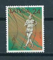 1996 Letland Olympic Games Atlanta Used/gebruikt/oblitere - Letland