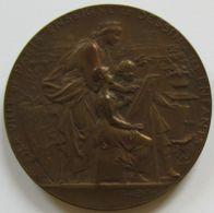 M02062 PARIS COURS DE DESSIN - ALLEGORIES VILLE ET ENFANTS  Par Bottée (68 G.) Pérot 1897 Enseignement Primaire - Professionnels / De Société
