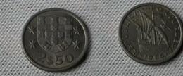 Portugal 2,5  Escudos 1965    Km#590  -       Ttb à Sup - Portugal