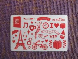Keyroad Membership Card, Eiffel Tower - Télécartes