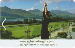 IRLANDA KEY HOYEL   Aghadoe Heights Hotel -     Killarney, Co. Kerry - Hotel Keycards