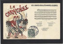 CPA Marianne La Carmagnole Politique Circulé - Philosophie & Pensées