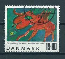 1998 Denmark 19.00 Art,kunst Used/gebruikt/oblitere - Denemarken