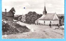 Cornimont-Semois (Bièvre)-+/-1960-L'Eglise Saint-Monon-Rue Du Village-Chevaux-photo Véritable-pas Courante - Bièvre
