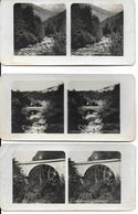 Collection Stéréoscopique GRANDE CHARTREUSE LOT De 3 Photos Stéréoscopiques -Etat = Voir Description (ISERE) - Photos Stéréoscopiques