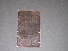 ANCIEN CARNET DE RECETTES DE Cuisine -  62 Pp Manuscrites - 1 Date :1908 - Manuscripts