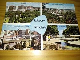 """Postal, Postcard, Radio  - """"Salisbury, Rhodesia, """" 1971 - Radio Amateur"""