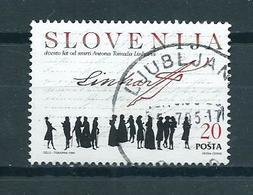 1995 Slovenia A.T Linhart Used/gebruikt/oblitere - Slovenië