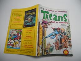 TITANS N°17 EDITION LUG STAR WARS LA GUERRE DES ETOILES IRON FIST CAPTAIN MARVEL  LES CHAMPIONS - Titans