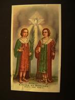 SANTI MEDICI   COSMA E DAMIANO     SANTINO HOLY CARD - Devotion Images
