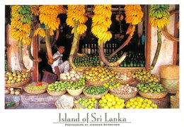 Sri Lanka Postcards, Tropical Fruits, People, Postcrossing - Sri Lanka (Ceylon)