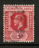LEEWARD ISLANDS   Scott # 48 VF USED (Stamp Scan # 441) - Leeward  Islands