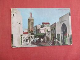 Street In Tangier Africa > Morocco > Tanger     Ref 3130 - Tanger