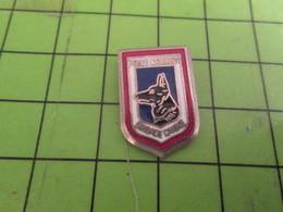 SP12 Pin's Pins / Beau Et Rare / THEME POLICE : POLICE NATIONALE BRIGADE CANINE 1 Sur 2 A Un Regard Intelligent - Police