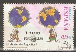 ESPAÑA 2001 EDIFIL 3823 USADO - 1931-Today: 2nd Rep - ... Juan Carlos I