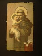 SANTO ANTONIO   SANTO SANCTUS SAINT  Saints     IMAGE PIEUSES - Devotion Images