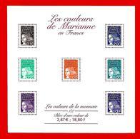 Fr. -- FRANCE  Bloc  &  Feuillet  --  2001  N° BF 40**  Neuf - Sheetlets
