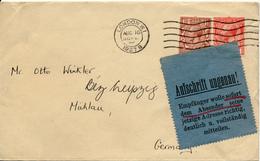 LONDON - 1927 , Privatganzsache Nach München - Label: Aufschrift Ungenau ! - 1902-1951 (Kings)