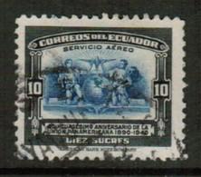 ECUADOR   Scott # C 90 VF USED (Stamp Scan # 441) - Ecuador