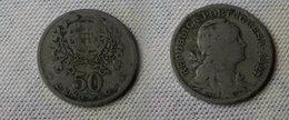 Portugal 50  Centavos 1927     Km#577  -      Tb - Portugal