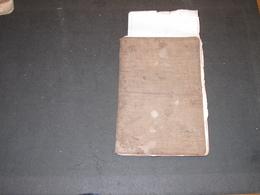 ANCIEN CARNET DE RECETTES DE Cuisine -  90 Pp Manuscrites - - Manuscripts