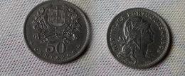 Portugal 50  Centavos 1956    Km#577  -    Sup - Portugal