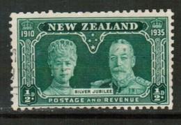 NEW ZEALND   Scott # 199 VF USED (Stamp Scan # 441) - 1907-1947 Dominion