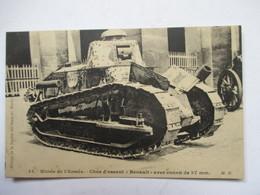 "MUSEE DE L' ARMEE  - CHAR D'ASSAUT "" RENAULT ""              TTB - Militaria"