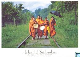 Sri Lanka Postcards, Buddhist Monks, People, Postcrossing - Sri Lanka (Ceylon)