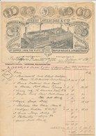 Factuur / Brief Wolverhampton 1907 - Henry Loveridge - Copper - Iron - Tin - Papier Mache - Japanned Wares - Royaume-Uni