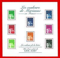 Fr. -- FRANCE  Bloc  &  Feuillet  --  2001  N° BF 42**  Neuf - Sheetlets