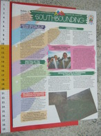 WL 1999 SCOUTS SCAUTISMO SCOUTING JAMBOREE - CILE CHILE BOLLETTINO N. 5 UFFICIALE 6 PAG. - Scoutismo