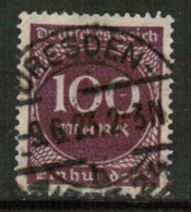 GERMANY   Scott # 229 VF USED (Stamp Scan # 441) - Germany