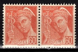 FRANCE 1938 - PAIRE Y.T. N° 415 - NEUFS** - Neufs