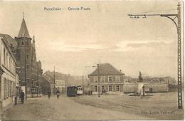 Merelbeke - Groote Plaats - Elektrische En Stoomtram. - Merelbeke