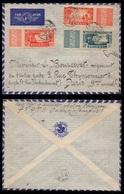 SENEGAL - DAKAR - AIR FRANCE / 1939 LETTRE AVION POUR PARIS (ref LE3075) - Senegal (1887-1944)