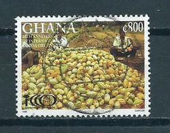 1998 Ghana Cacao Used/gebruikt/oblitere - Ghana (1957-...)