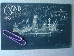 GENT : Lot De 18 Cartes Concernant La Fête Vénitienne De 1905 à L'occasion Du 75ème Anniversaire De L'indépendance N. - Gent