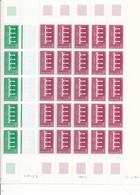 CK-203: FRANCE: Lot  Avec Feuilles Complétes Des N°2309 Et 2310** - Feuilles Complètes