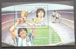 Central African Republic 1986 World Cup Soccer Championships,Mexico S/S - Central African Republic